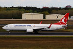 Turkish Airlines, Boeing B 737-8F2, TC-JGD, TXL.