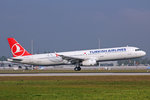 Turkish Airlines, TC-JRZ, Airbus A321-231,  Maltepe , 24.September 2016, MUC München, Germany.