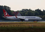 Turkish Airlines, Boeing B 737-8F2, TC-JVF, TXL, 23.09.2016