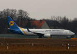 Ukraine International, Boeing B 737-8Q8, UR-PSP, TXL, 19.02.2017