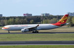 B-6527 Hainan Airlines Airbus A330-343 in Tegel am 20.04.2016 gelandet