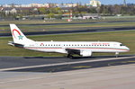 CN-RGO Royal Air Maroc Embraer ERJ-190AR (ERJ-190-100 IGW)   gelandet am 20.04.2016 in Tegel