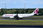 A7-ACJ Qatar Airways Airbus A330-202  gelandet in Tegel am 07.07.2016