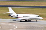 CS-DLH NetJets Europe Dassault Falcon 2000EX  zum Start am 07.07.2016 in Tegel
