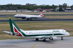 EI-RDA Alitalia Cityliner Embraer ERJ-175STD (ERJ-170-200)  zum Start am 07.07.2016 in Tegel