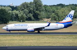 TC-SNY SunExpress Boeing 737-8K5(WL)  gelandet in Tegel am 07.07.2016