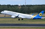 UR-EMC Ukraine International Airlines Embraer ERJ-190LR (ERJ-190-100 LR)  gestartet in Tegel am 07.07.2016