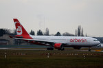 Air Berlin, Airbus A 330-223, D-ALPE, TXL,05.02.2016