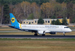 Ukraine International, ERJ-190-200STD, UR-EMC, TXL, 09.04.2016