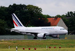 Air France, Airbus A 318-111, F-GUGL, TXL, 15.07.