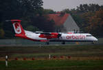 Air Berlin, DHC-8-402Q, D-ABQR, TXL, 23.10.2016