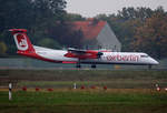 Air Berlin, DHC-8-402Q, D-ABQO, TXL, 23.10.2016