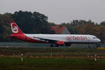 Air Berlin, Airbus A 321-211, D-ABCC, TXL, 23.10.2016