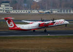 Air Berlin, DHC-8-402Q, D-ABQI, TXL, 25.11.2016