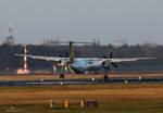 Air Baltic, DHC-8-402Q, YL-BAH, TXL, 27.11.2016