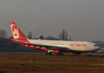 Air Berlin, Airbus A 330-223, D-ALPC, TXL, 29.01.2017
