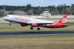 D-ABCI Air Berlin Airbus A321-211  gestartet in Tegel am 07.07.2016