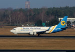 Ukraine International, Boeing B 737-36N, UR-GBA, TXL, 08.03.2016