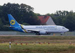 Ukraine International, Boeing B 737-32Q, UR-GAH, TXL, 23.09.2016