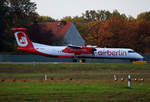 Air Berlin, DHC-8-402Q, D-ABQR, TXL, 29.10.2016