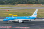 KLM Cityhopper Embraer ERJ-175STD (ERJ-170-200) PH-EXH am 11.09.2016 in Düsseldorf.
