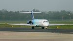 Boeing 717 - Blue1 in DUS, 23.9.14