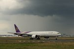 Thai Air,HS-TKV,(c/n42111),Boeing 777-3D7(ER),14.06.2016,FRA-EDDF,Frankfurt,Germany(Name: Suchitra)