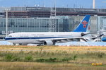 B-6548 China Southern Airlines Airbus A330-223  am 06.08.2016 in Frankfurt zum Start