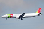 CS-TJG TAP - Air Portugal Airbus A321-211  am 06.08.2016 in Frankfurt beim Landeanflug