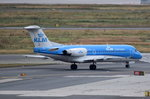 PH-KZL KLM Cityhopper Fokker F70   in Frankfurt am 01.08.2016 zum Start