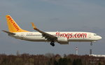 Pegasus Airlines, TC-AIP,(c/n 40877),Boeing 737-82R(WL), 02.04.2016, HAM-EDDH,Hamburg, Germany (Name:Hande)