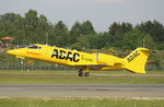 ADAC Ambulance, D-CURE, Learjet 60XR, 27.05.2016, HAM-EDDH, Hamburg, Germany