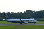 Ryanair Boeing 737-800 EI-FIL beim Start in Hamburg Fuhlsbüttel am 22.06.16