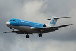 KLM Cityhopper, PH-KZP,(c/n 11539),Fokker F 70, 09.07.2016, HAM-EDDH, Hamburg, Germany