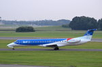 British Midland Embraer ERJ-145EP G-RJXR am 14.09.16 in Hamburg Fuhlsbüttel.
