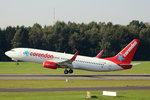 Corendon Air, TC-TJU, (c/n 29681),Boeing 737-8HX(WL), 25.09.2016, HAM-EDDH, Hamburg, Germany