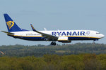 B 737-800 Ryanair, EI-FRH, short final CGN - 05.05.2016