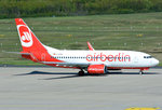 B 737-700 Air Berlin, D-AHXF, taxy in CGN - 05.05.2016
