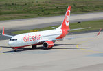 B 737-800 Air Berlin - D-ABMV taxy in CGN - 10.07.2016