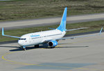 B 737-800 Pobeda, VQ-BTE, taxy in CGN - 05.05.2016