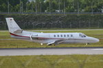 D-CELI Private Cessna 550B Citation Bravo  in München zum Gate am 18.05.2016