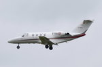 D-IAWU Private Cessna 501 Citation I SP   in München beim Anflug am 19.05.2016