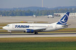 Tarom Romanian Airlines, YR-BGD, Boeing 737-78J, 25.September 2016, MUC München, Germany.
