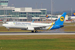 Ukraine International Airlines, UR-PSH, Boeing 737-85R, 25.September 2016, MUC München, Germany.