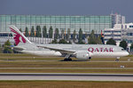 Qatar Airways, A7-BCY, Boeing 787-8, 25.September 2016, MUC München, Germany.
