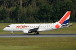 F-HBXA HOP! Embraer ERJ-170STD (ERJ-170-100)  in Nürnberg am 01.10.2016 beim Start