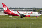 Air Berlin, D-AHXE, Boeing, B737-7K5, 11.05.2016, STR, Stuttgart, Germany