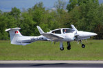 Private, HB-LUW, Diamant Twin Star DA-42,  8.Mai 2016, BSL Basel, Switzerland.