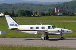 Private, N89JA, Piper PA-31-T Cheyenne, 18.Mai 2016, BSL Basel, Switzerland.