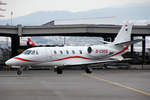 Würth Aviation, D-CSEB, Cessna 560XLS, 18.Januar 2017, ZRH Zürich, Switzerland.